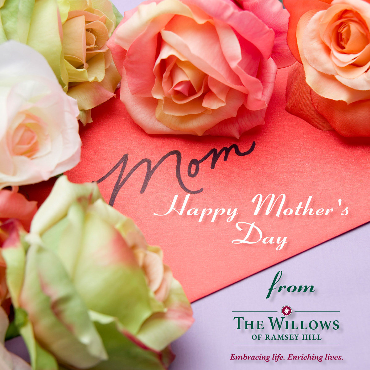 Happy Mother's Day, Willows of Ramsey Hill, St. Paul, MN