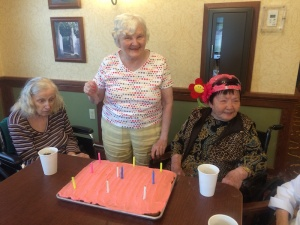 August Birthdays, Willows of Ramsey Hill, St. Paul, MN