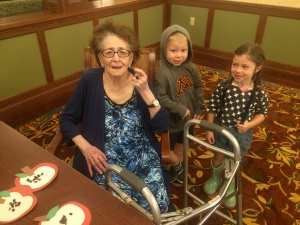 willows of ramsey hill senior living, senior activities, preschool activities